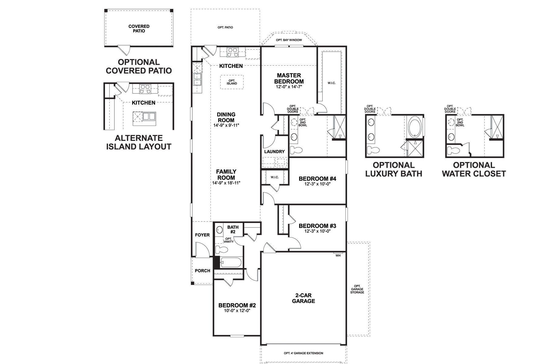 Cameron Floorplan