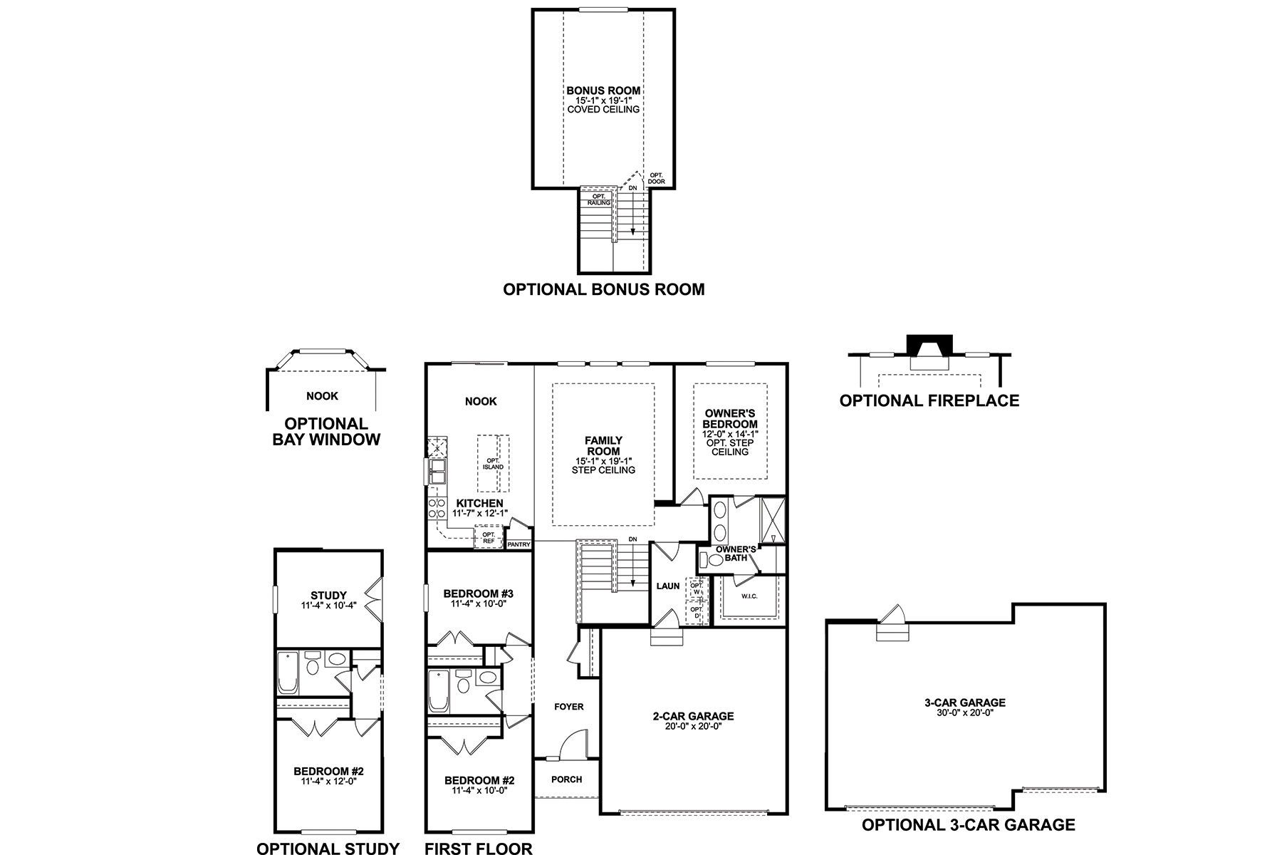 Freemont Floorplan