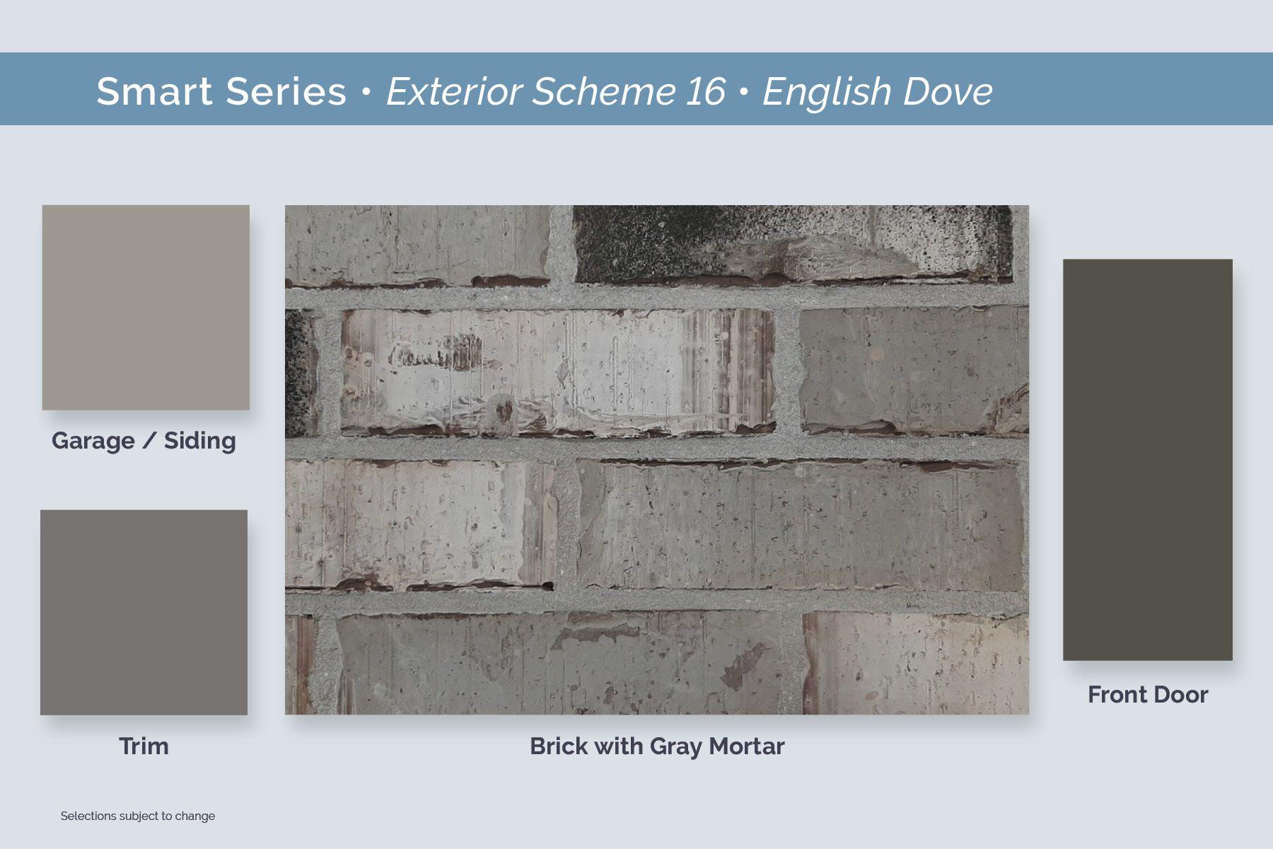 Dallas Smart Series Exterior Package 16 English Dove