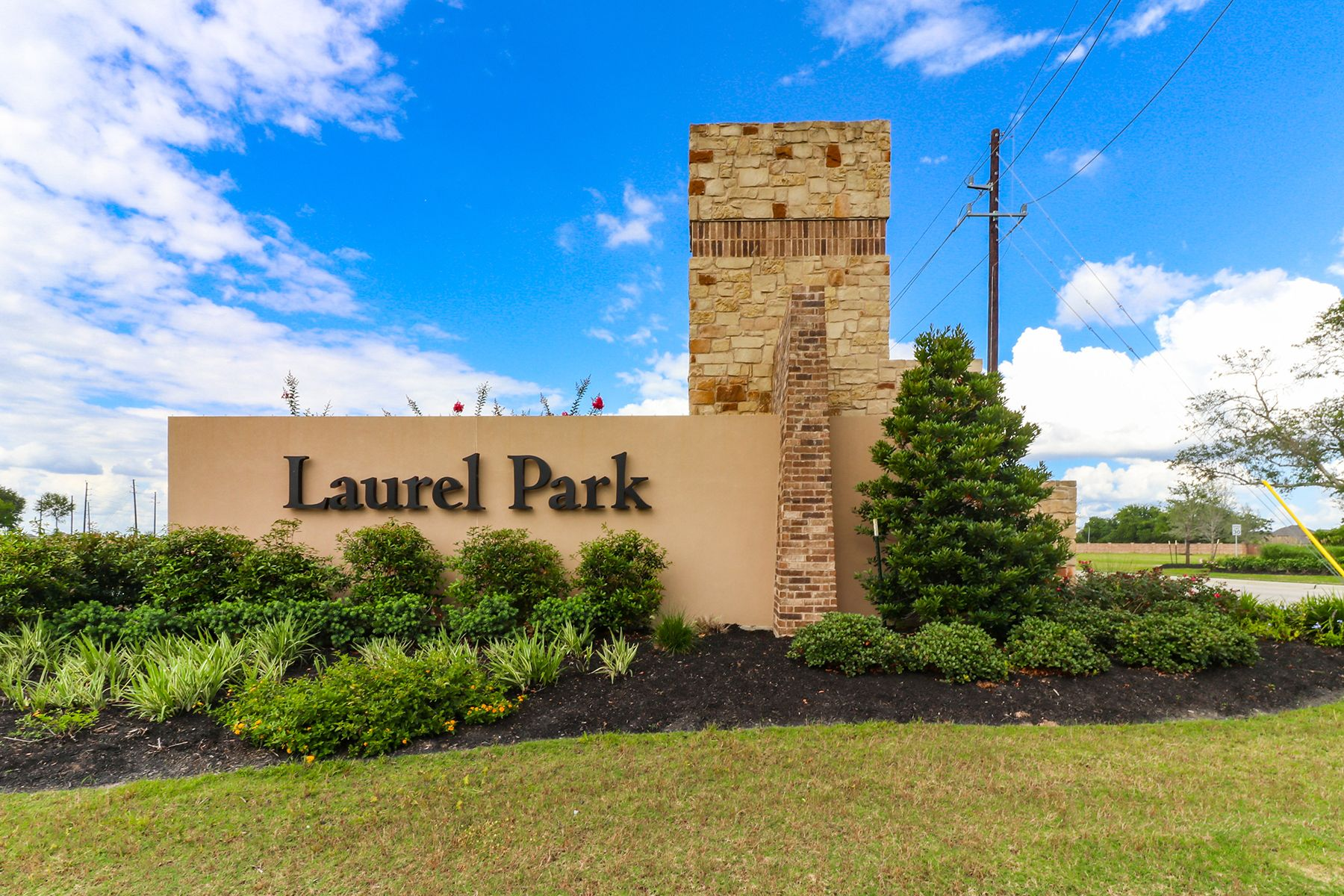 Laurel Park Entrance