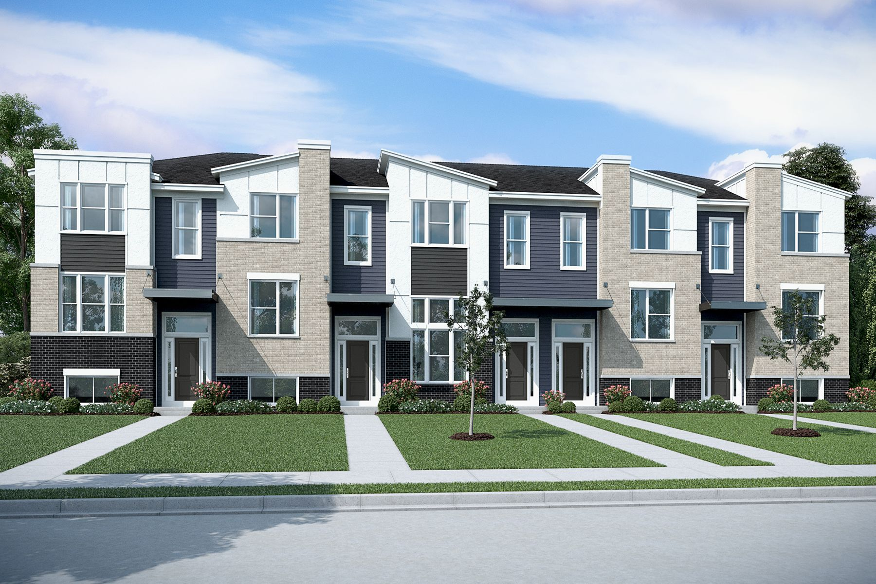 Everton Townhome Elevation
