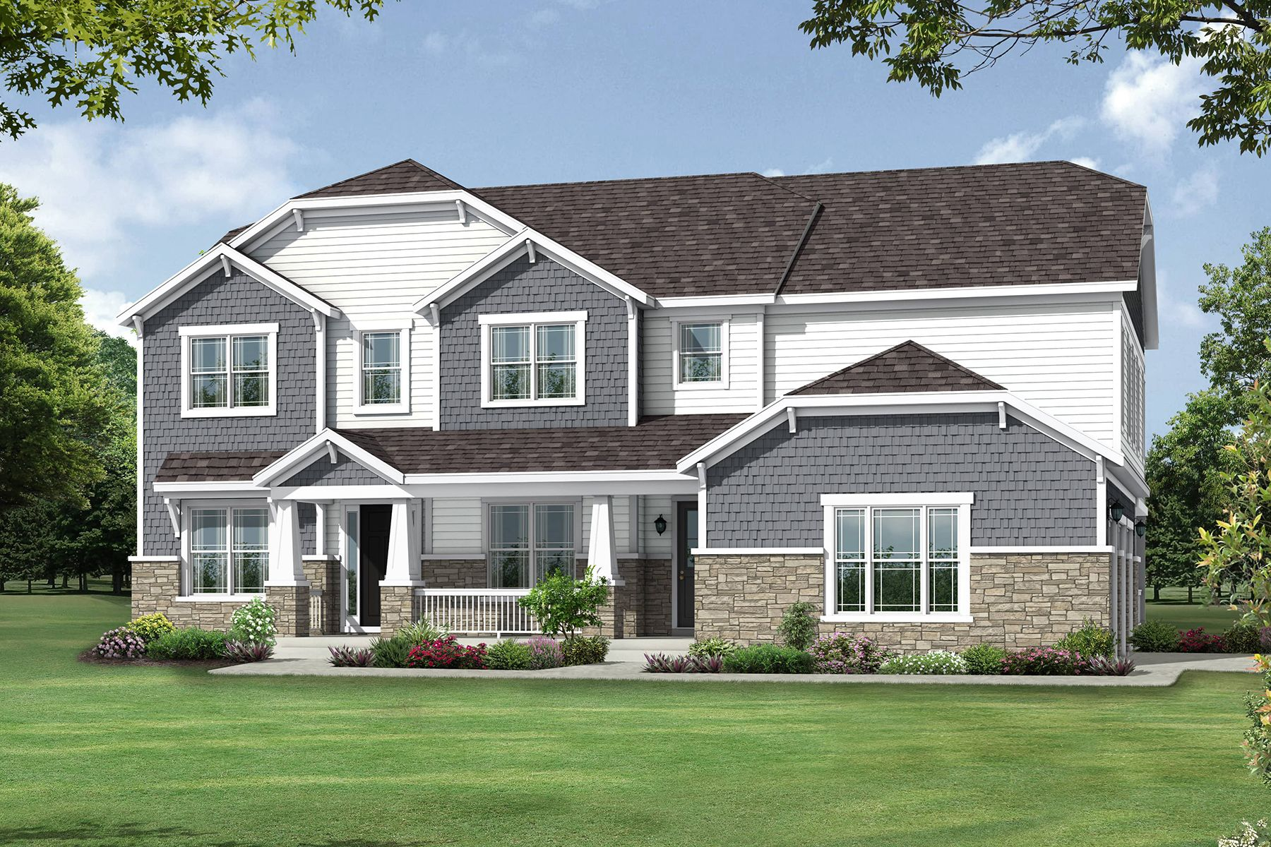 Kingston Craftsman Elevation