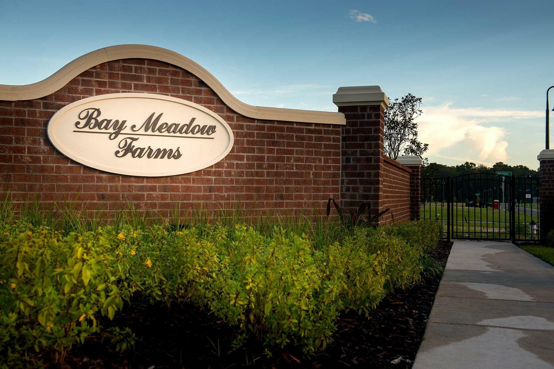 Bay Meadow Farms Entrance