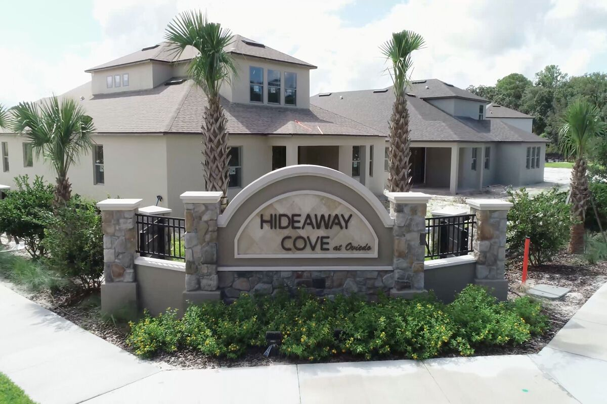 Hideaway Cove Entrance