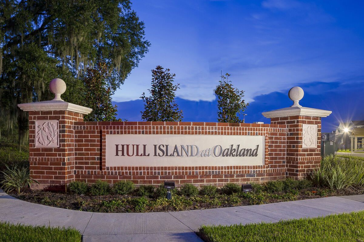 Hull Island at Oakland Entrance