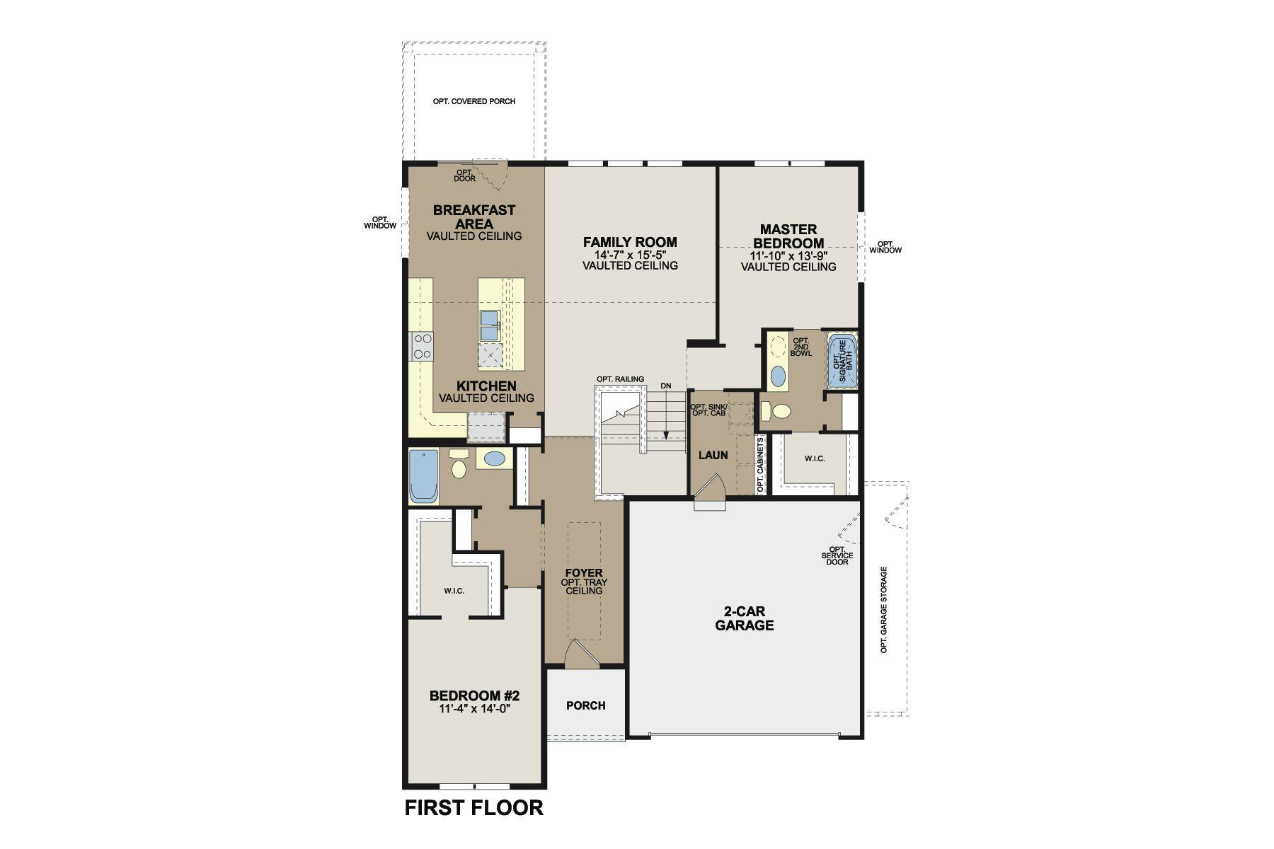 Faulkner Floorplan