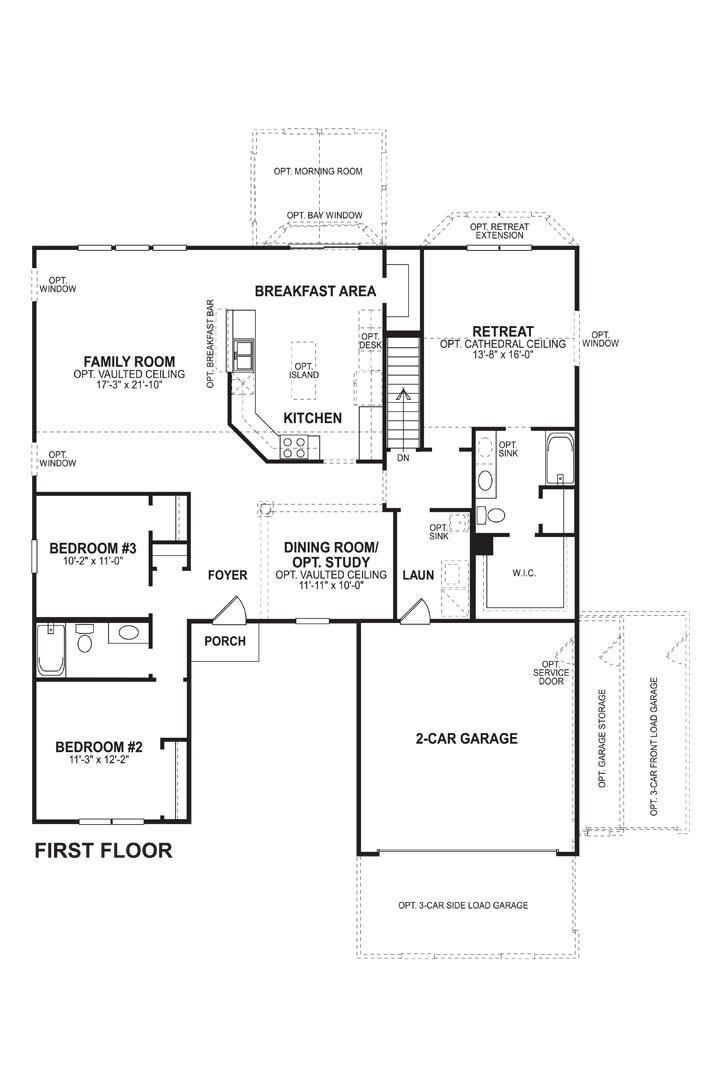 Clayton First Floor