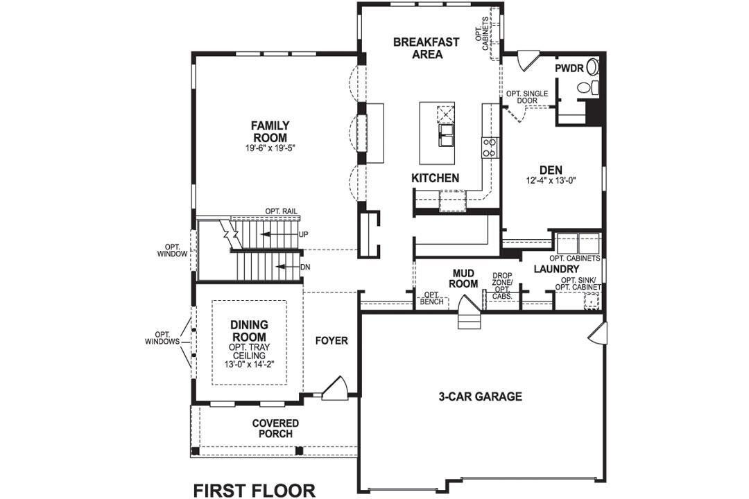Monroe First Floor