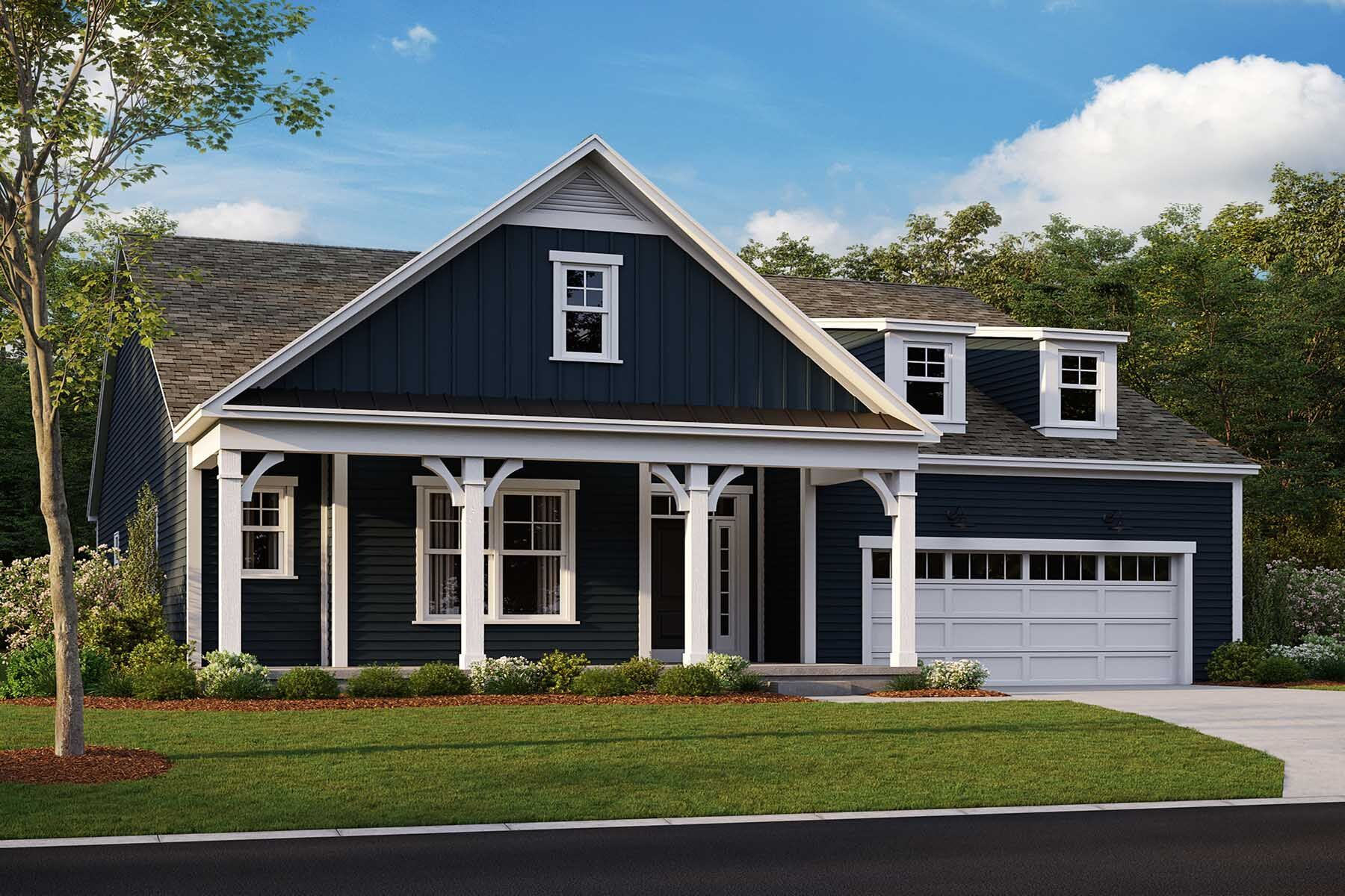 Hillsdale Elevation A