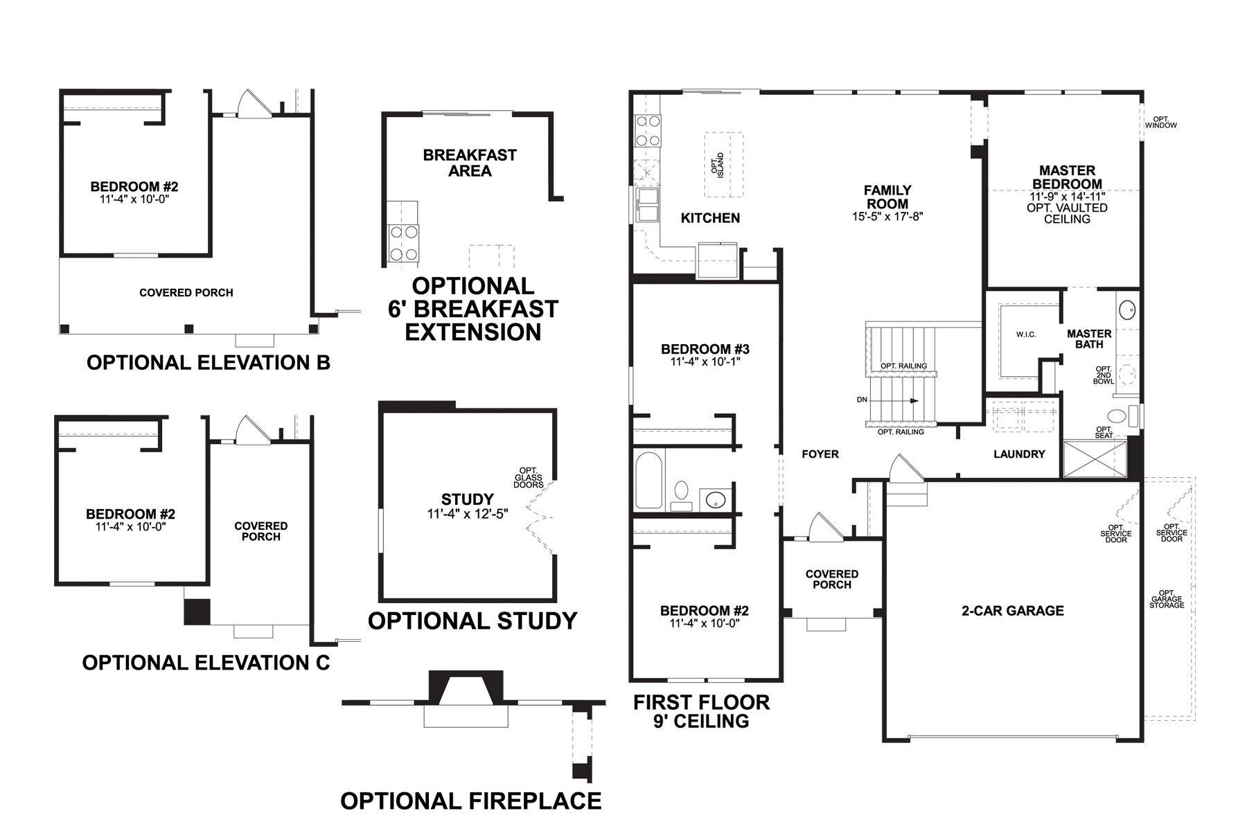 Ashland First Floor