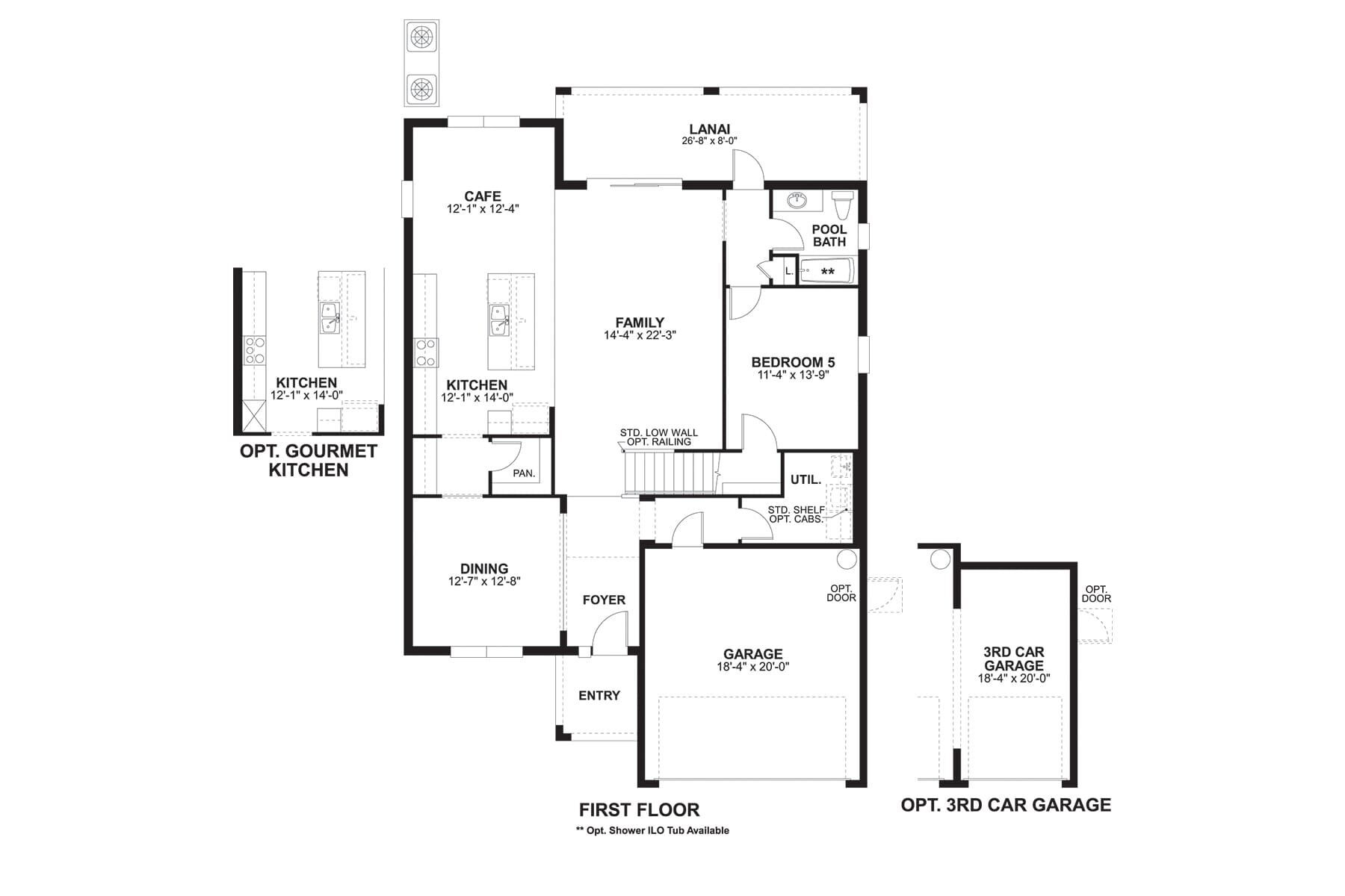 Coronado II First Floor