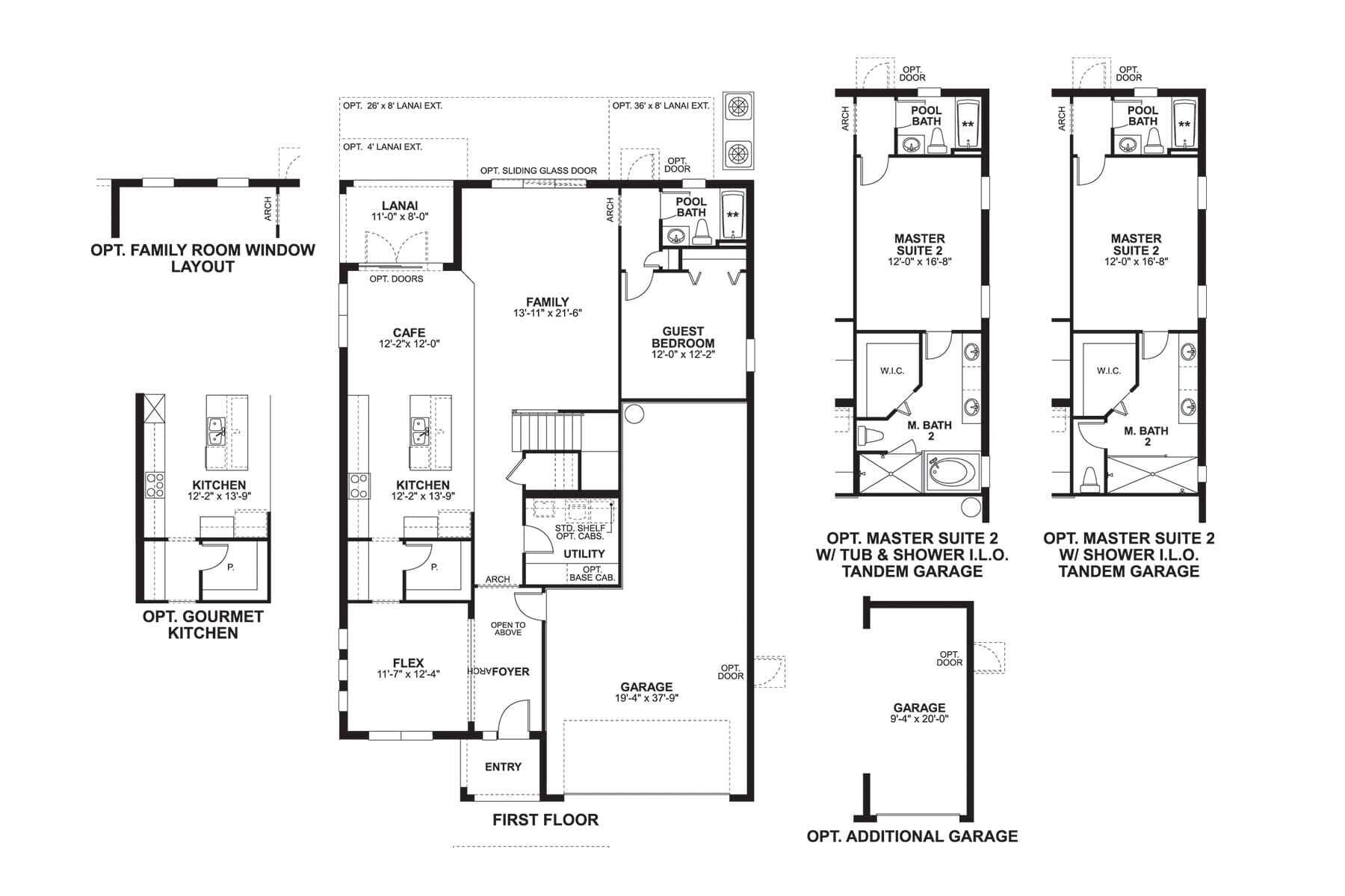 Sonoma II First Floor