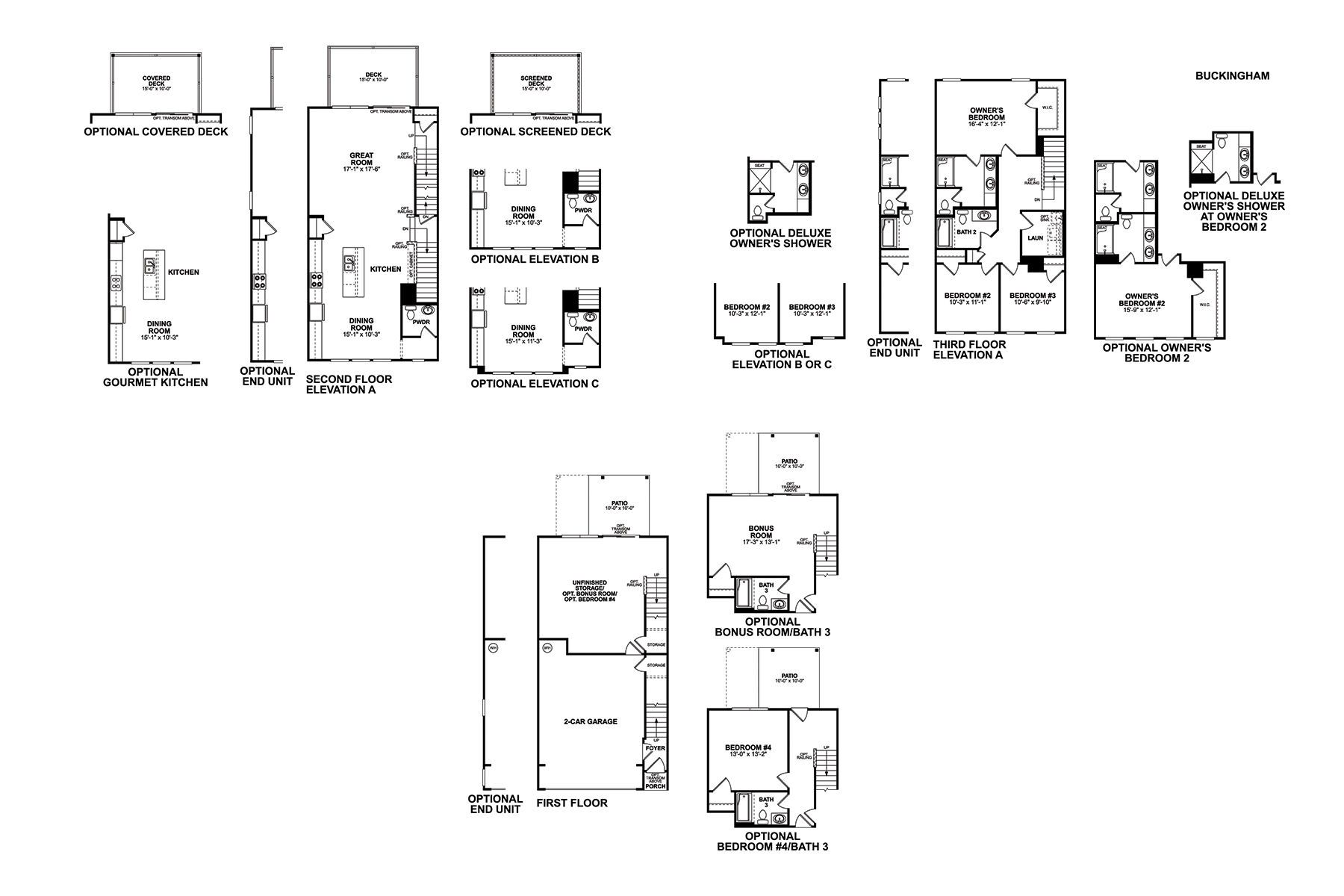 Buckingham Floorplan