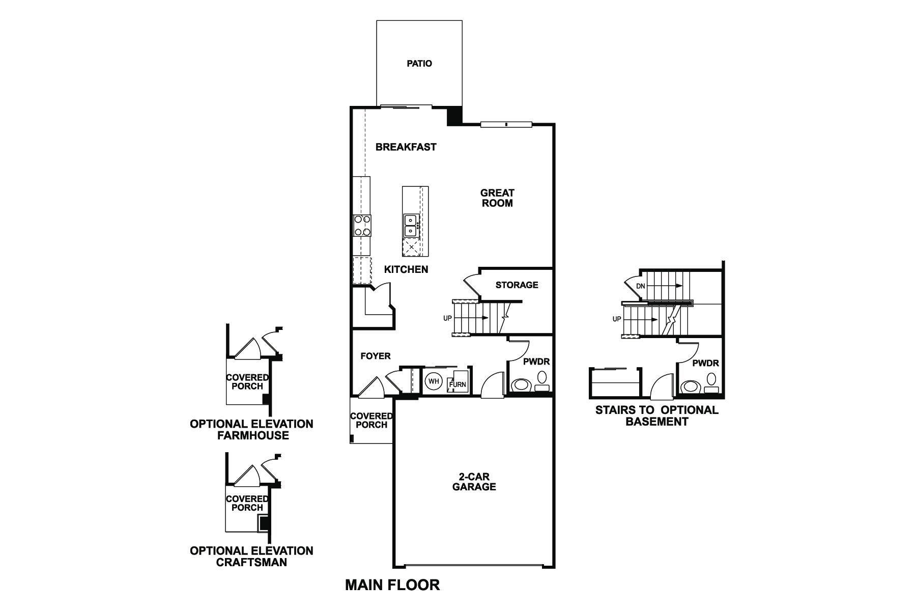 Braeden Floorplan