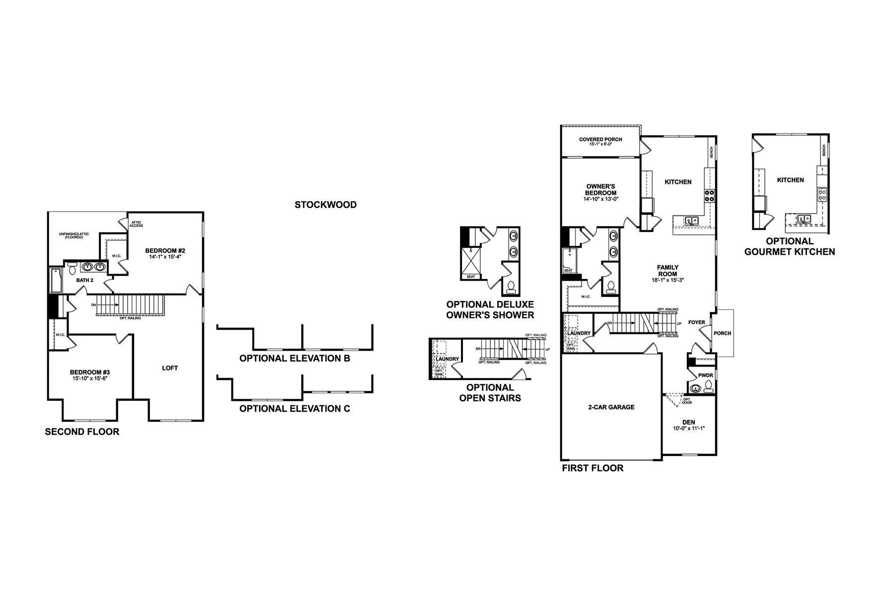 Stockwood Floorplan