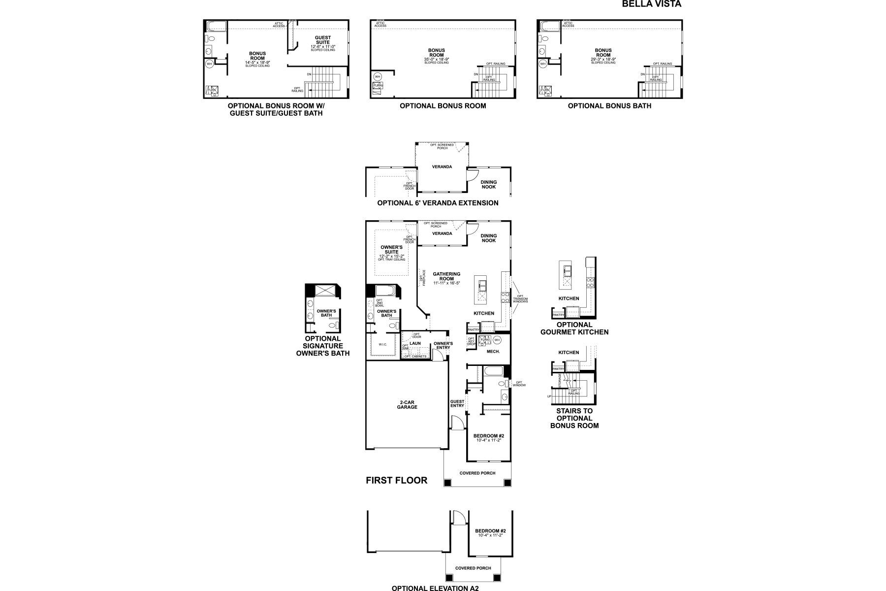 Bellavista Floorplan