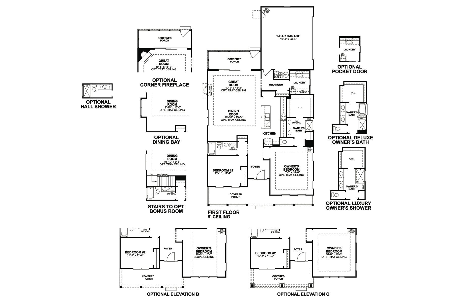 Beaufort Floorplan