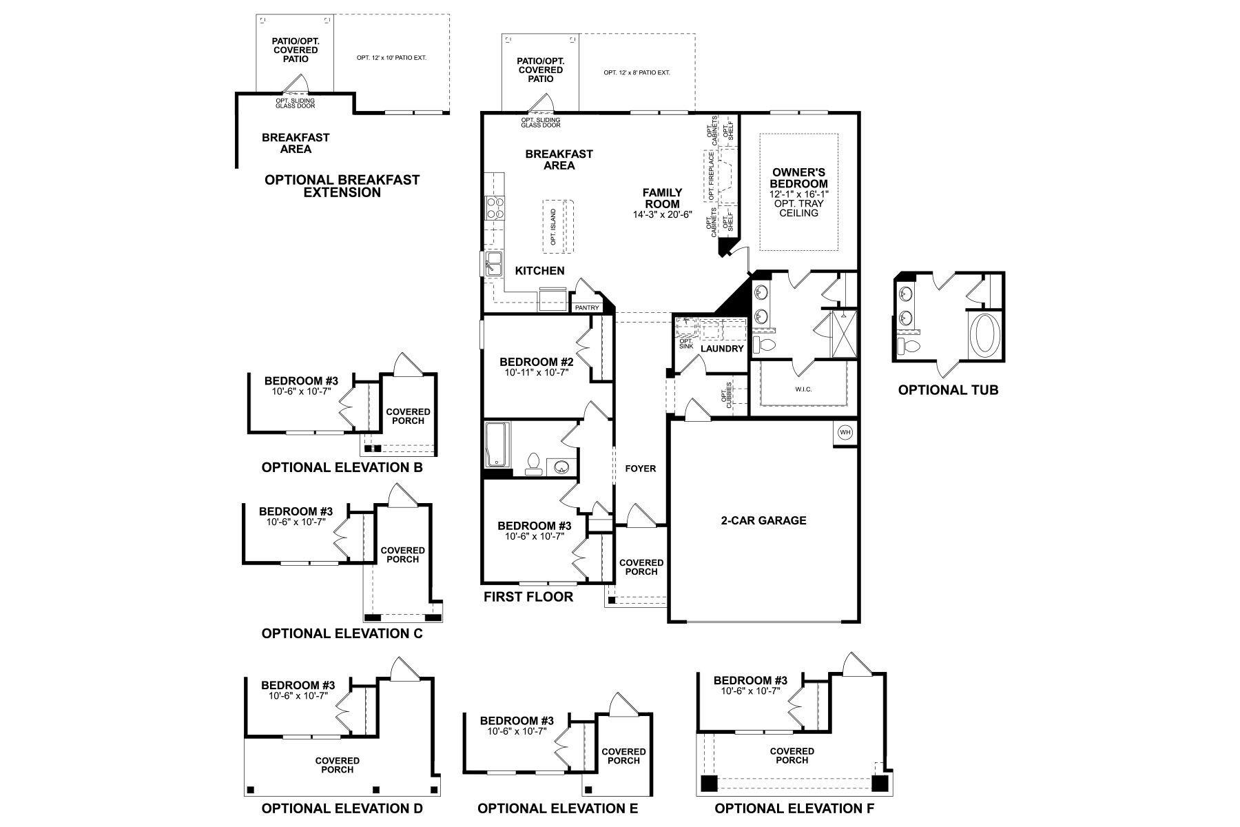 Ashwood Floorplan