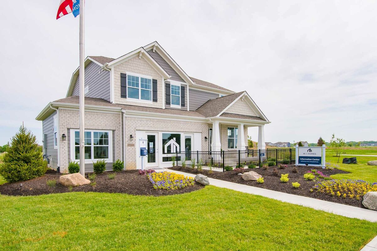 The Reserve at Steeplechase Model Exterior