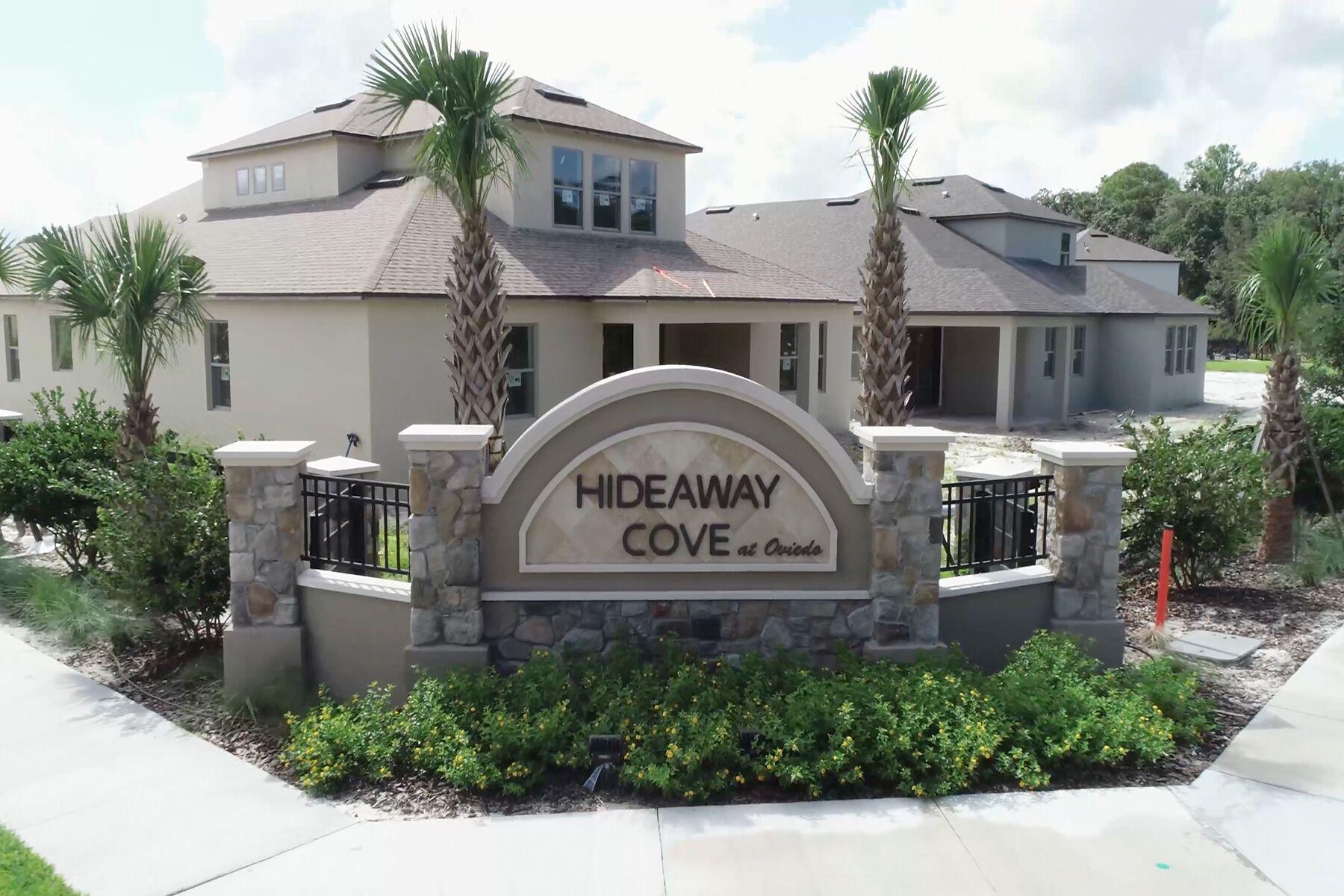 Hideaway Cove Entrance