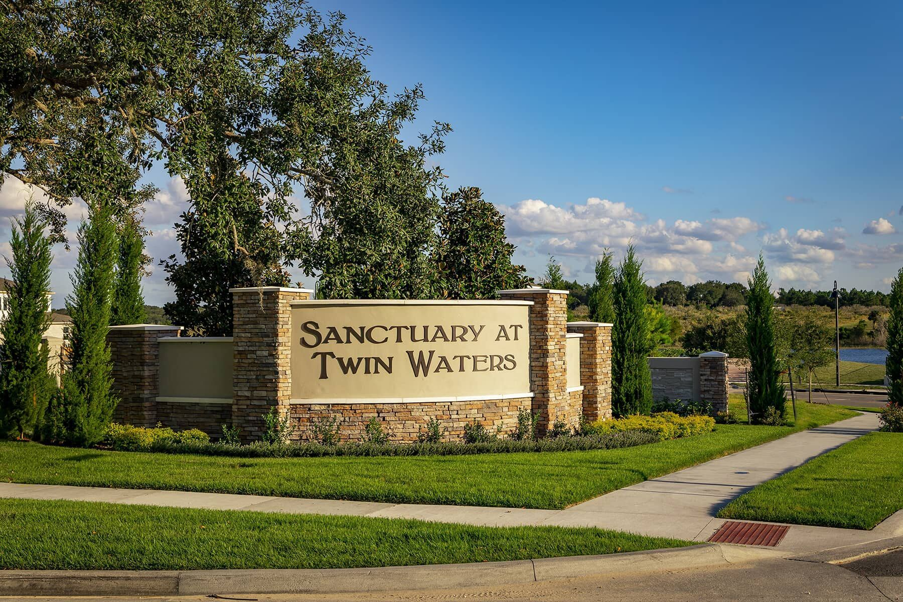 Sanctuary at Twin Waters Entrance
