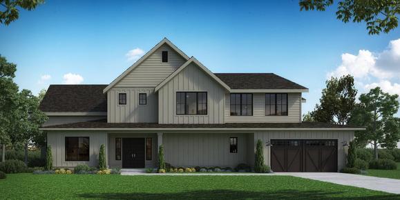 Homesite 9 Rockaway:Elevation