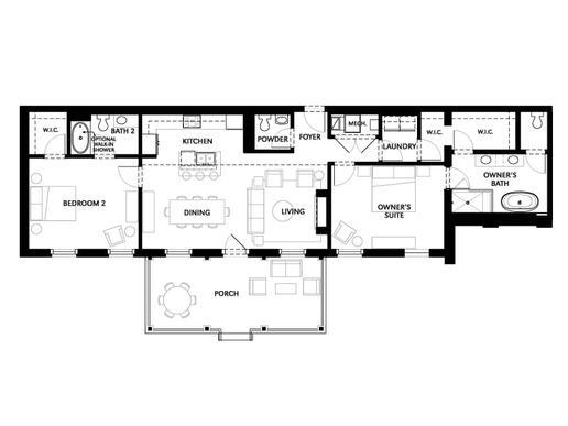 Unit A9:Floor Plan