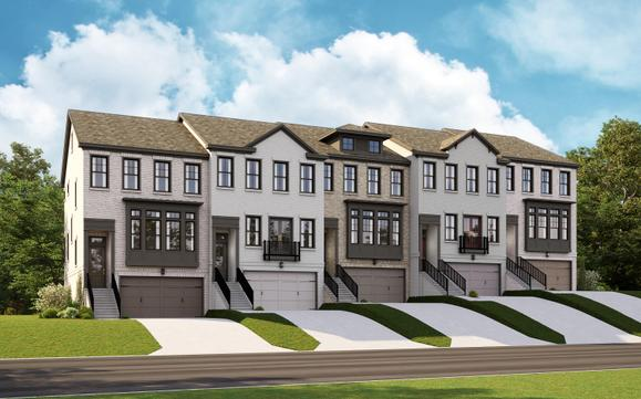 The Ellington Townhome:3-Story Floor Plan with Luxury Details Throughout