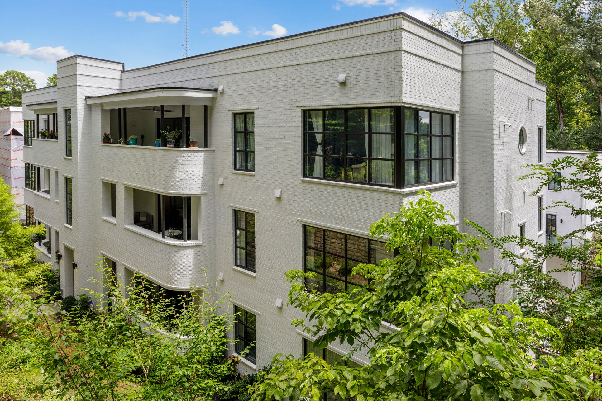 Luxury Art Moderne Condo Flats:with a Premier Druid Hills Address