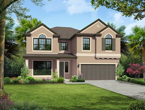The Briarwood:Elevation A
