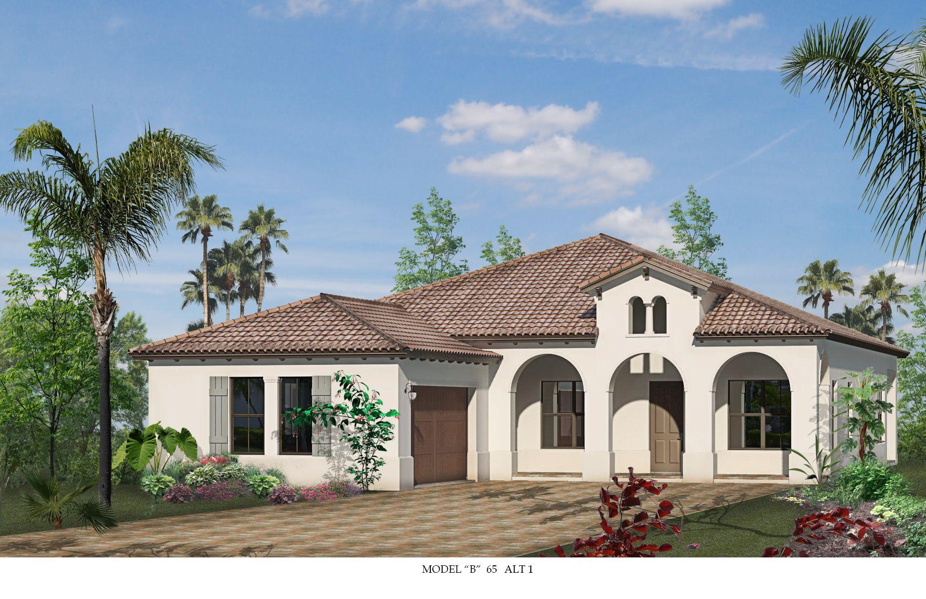 Briones Elevation 1:Designer model home open daily