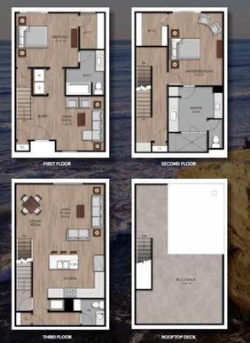 The Beacon 3 And 4:Floor Plan