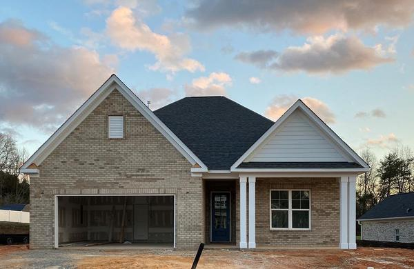 The Amherst :Single Level Home located in Brookside at Ashlyn Creek