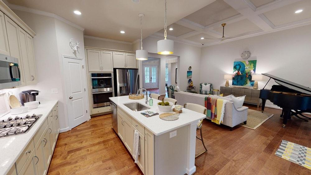The Augusta at Norwick Park :Single Level Home