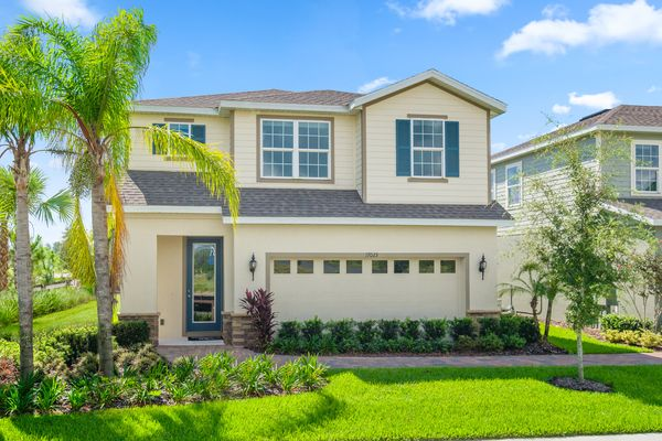The Perfect Amount of Space:Choose from one or two-story homes with up to 2,443 square feet of living space.