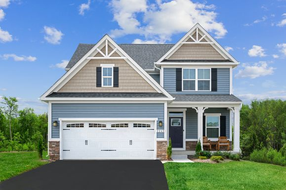 """Welcome Home to Monroe Pointe:Get """"The Works"""" package with select homes, including a finished basement with full bath, granite counters, and upgraded cabinetry.Click here to schedule a 1-on-1, phone, or video appointment today!"""