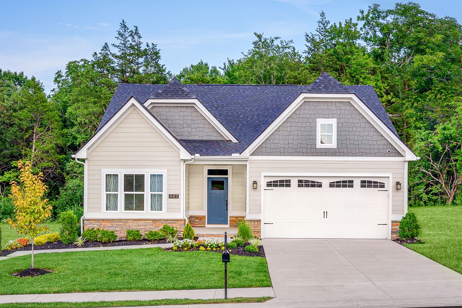 Welcome home to Highland Woods - New Ranch Homes in Elgin:Lawn care & snow removal included and fences allowed! Located in an amenity filledcommunity. From the upper $200s, with basements included.Click here to schedule your visit!