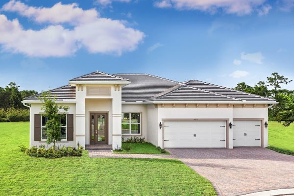 the Hernando:Come and explore our gorgeous new model home, the Hernando, part of our brand new Estate Collection that includes oversized homesites which all feature 3-car garages.