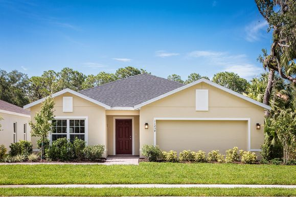 Last Chance to Own at Highland Cove in Davenport, FL!:Don't miss your chance to own a new single-family home in Highland Cove! We offer oversized homesites with No CDD. From the low $200s.Schedule a visit today!Se habla Español.