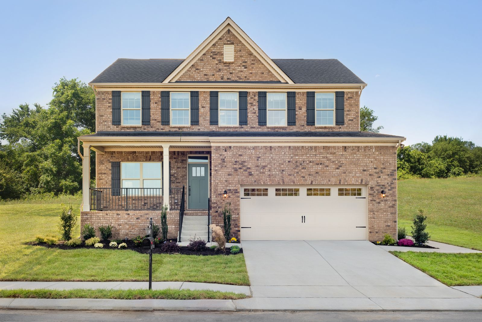 The Falls in Joelton - from the low $300s:Executive-style full brick homes in a quiet community surrounded by trees just 1 mile from I-24 and only 15 minutes to downtown Nashville.Visit us today to see just how scenic our community is!