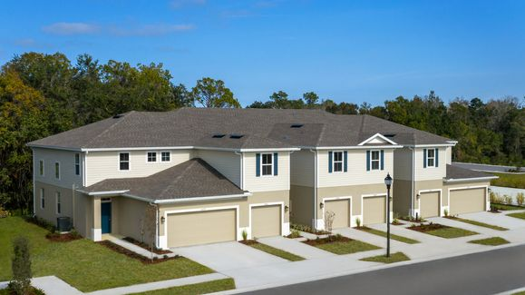 OWN for LESS THAN RENT!:With historically low interest rates, low HOA, and NO CDD fee your monthly payment will be less than rent! New 3 bedroom townhomes with garage from the $190's.Schedule a visit today!