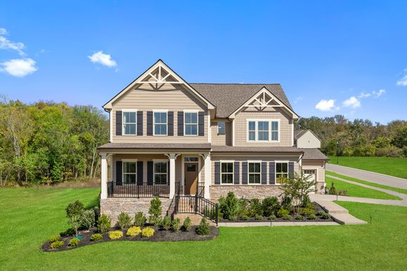Falls Grove - Resort-Style Living in Williamson County:Spacious, tree-lined homesites, resort-style amenities, easy access to I-840 & I-65, and 5 minutes from Page High & Middle.Schedule your visitto choose yourfavorite homesite!