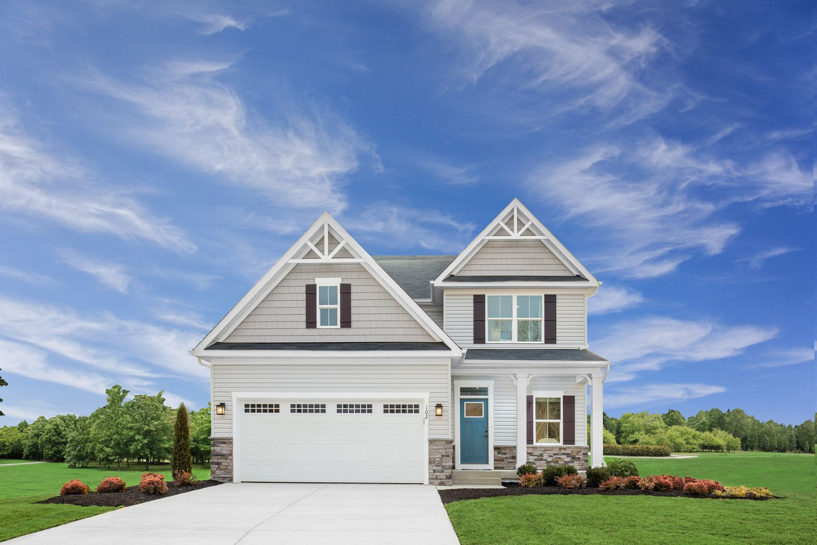 WELCOME HOME TO WICKER CREEK:Best Priced New Homes in Plain Township! Spacious homesites nestled in a charming community. Less than 3 miles from Oakwood & Washington Square! From upper $200s.