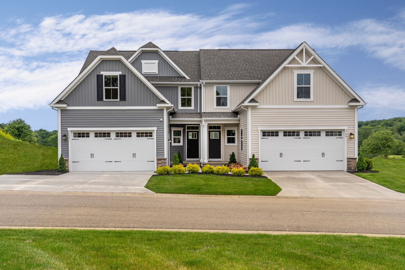 NEW DUPLEX MODEL HOME NOW OPEN:Introducing the Calvert Duplex with 1st floor owner's suite. Get the area's lowest payments with low Isle of Wight taxes!Clickto schedule a visit.