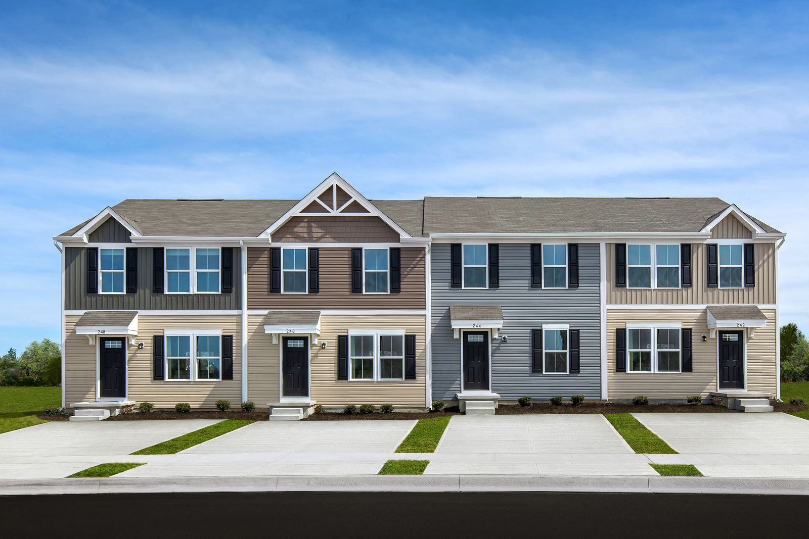 Owning a new townhome in Anderson is simple and the same or less than rent!:0% down financing available. Schedule your visit today to learn more!