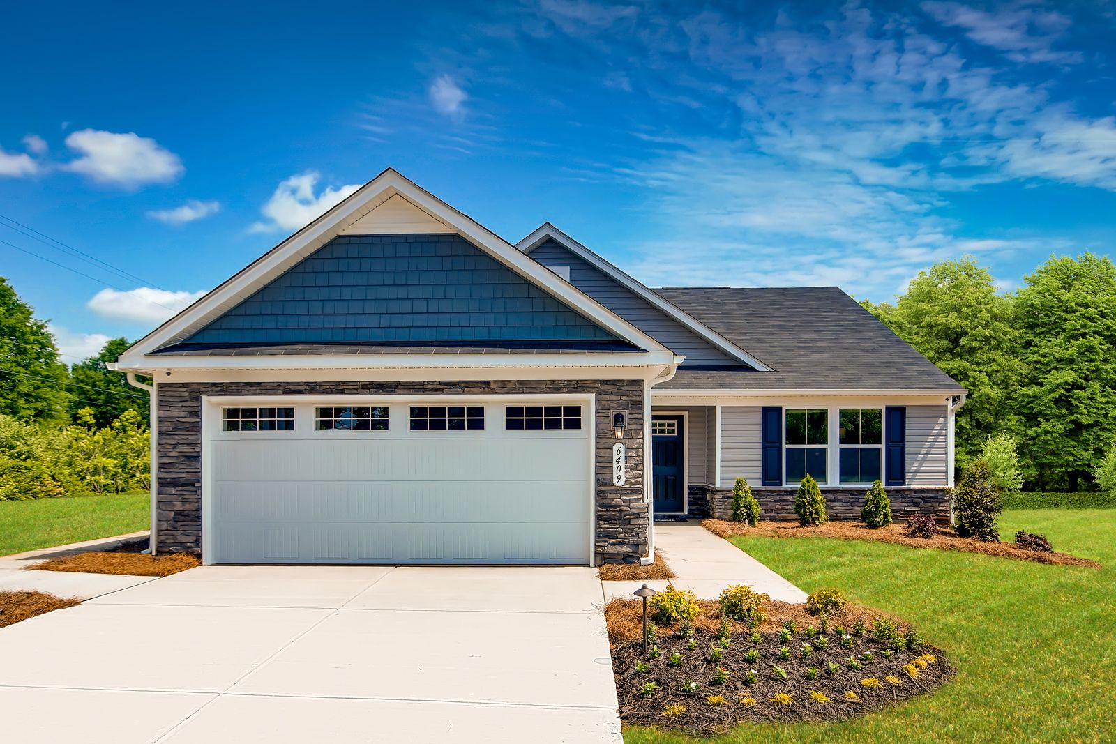 Ranch Homes with Lawn Care Included On The East Side of Charlotte:Say goodbye to climbing stairs and mowing lawns with new, affordable ranch homes –Click here to schedule a visit!