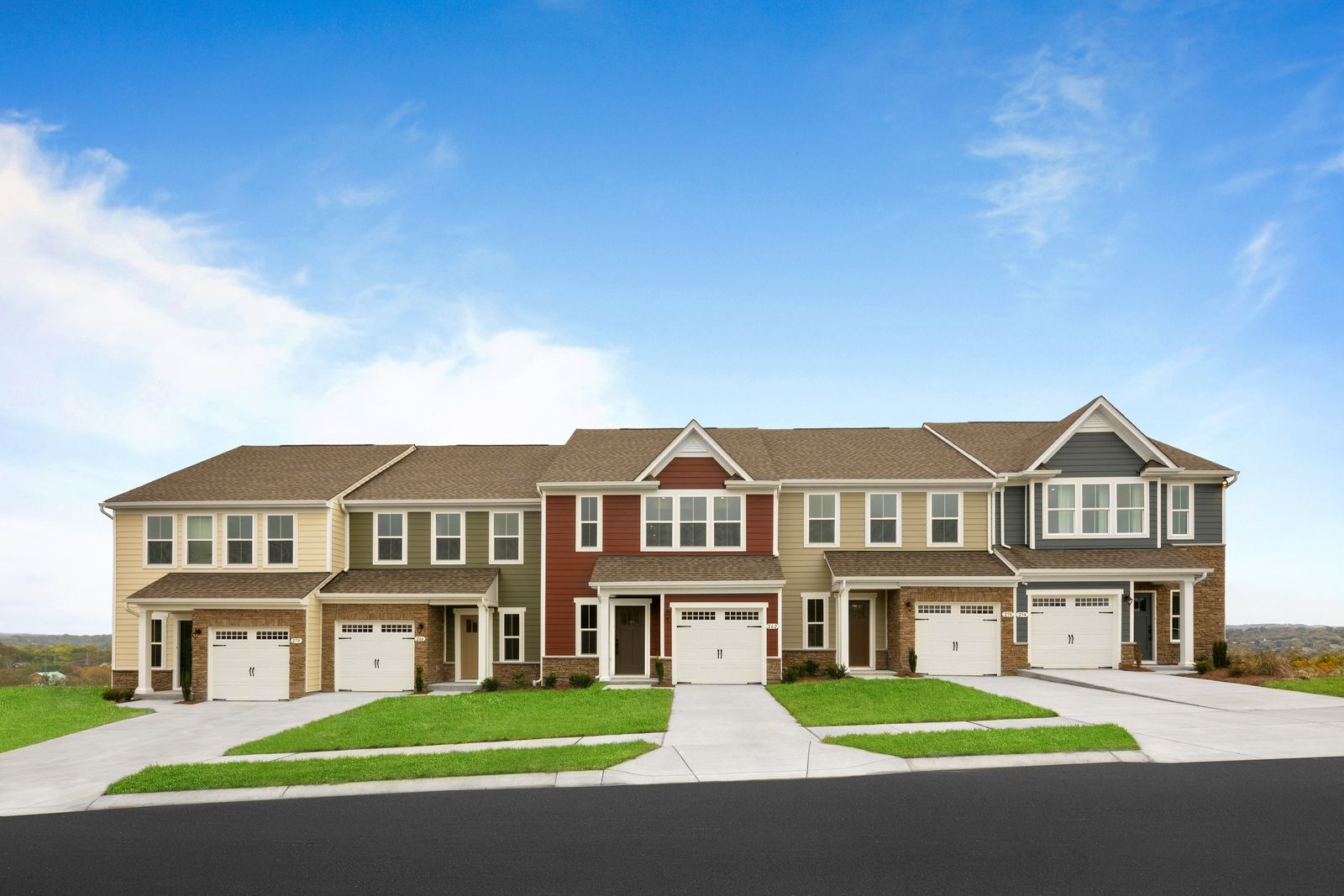 Own an affordable townhome near downtown Nashville:Enjoy all of the style and none of the maintenance. Rare first floor owner's suite options with 1 and 2-car garages.Click here to schedule a visit to tour both of our decorated models!