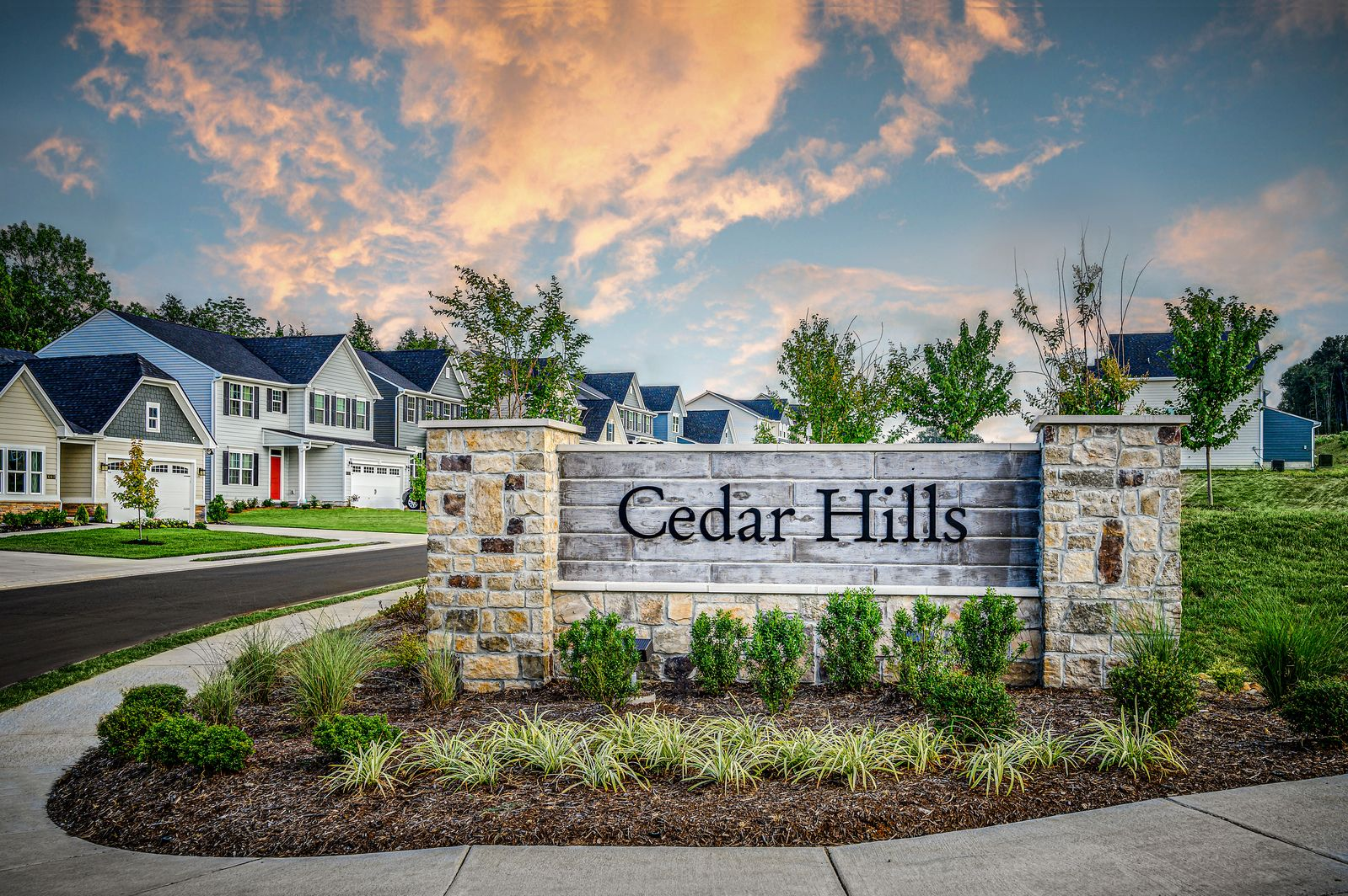Cedar Hills - Limited Homesites Are Being Released Every Month:Charming community w/resort-style amenities &luxury finishes. Walkable to Stewarts Creek schools!Join the VIP list to be notified when new homesites are released in this sought-after community!
