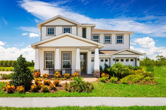 Welcome to the Sanctuary at Lakes of Windermere!:Own a brand new single-family homein the most sought after zip code in Central Florida.Schedule a visittoday! Starting from the Upper $300s.
