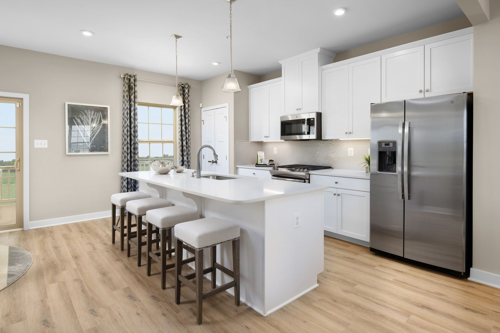 WELCOME TO LAKE LINGANORE HAMPTONS:Now Open! Own a townhome in Lake Linganore's newest neighborhood from the mid $300s. Two new models to tour.Schedule your 1-1 in person or virtual visit today!